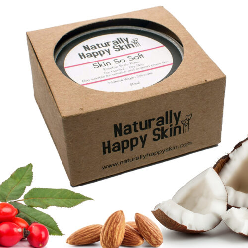 Skin So Soft Rosehip Body Butter 50ml | Naturally Happy Skin