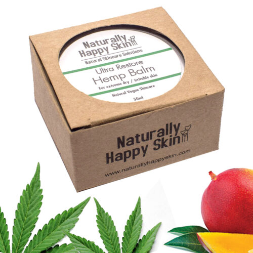 Ultra Restore Hemp Balm 50ml | Naturally Happy Skin