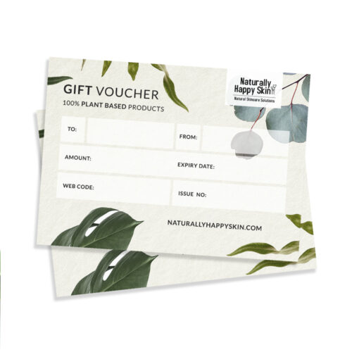 Naturally Happy Skin Gift Voucher